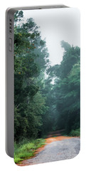 Portable Battery Charger featuring the photograph Spring Dirt Road by Shelby Young