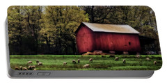 Spring Farm Portable Battery Charger by Richard Engelbrecht