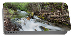 Portable Battery Charger featuring the photograph Spring Flow by Fran Riley