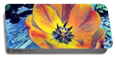 Portable Battery Charger featuring the photograph Spring Flower Bloom by Derek Gedney