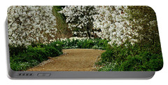 Spring Flowering Trees Wall Art Portable Battery Charger