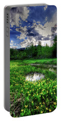 Portable Battery Charger featuring the photograph Spring Flowers by Bryan Carter