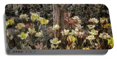 Portable Battery Charger featuring the photograph Spring Flowers by Joann Vitali