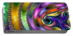 Spring Garden Abstract Portable Battery Charger by Maciek Froncisz