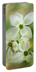 Spring Has Sprung Portable Battery Charger by Mary Timman