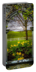 Portable Battery Charger featuring the photograph  Spring In Ballynacally, County Clare by James Truett