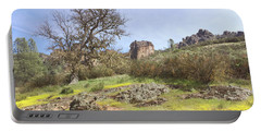 Portable Battery Charger featuring the photograph Spring In Pinnacles National Park by Art Block Collections