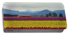 Spring In Skagit Valley Portable Battery Charger