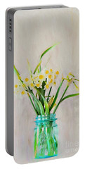 Portable Battery Charger featuring the photograph Spring In The Country by Benanne Stiens