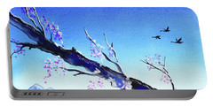 Spring In The Mountains Portable Battery Charger