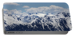 Spring In The Olympic Mountains Portable Battery Charger by Jane Eleanor Nicholas