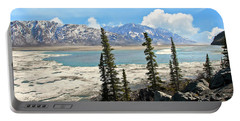Spring In The Wrangell Mountains Portable Battery Charger