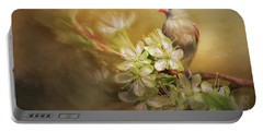 Portable Battery Charger featuring the photograph Spring Is In The Air by Linda Blair
