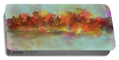 Portable Battery Charger featuring the digital art Spring Is Near by Jessica Wright