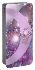 Spring Moon Bubble Fractal Portable Battery Charger