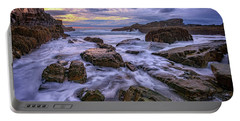 Spring Morn At Bald Head Cliff Portable Battery Charger by Rick Berk