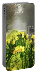 Spring Morning Portable Battery Charger