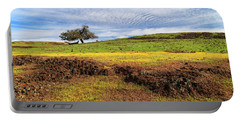 Portable Battery Charger featuring the photograph Spring On North Table Mountain by James Eddy