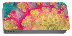 Portable Battery Charger featuring the digital art Spring On Parade by Bonnie Bruno