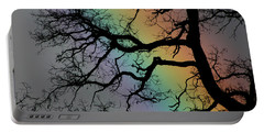 Spring Rainbow Portable Battery Charger by Cathie Douglas