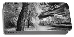 Portable Battery Charger featuring the photograph Spring Sky by Dan Jurak
