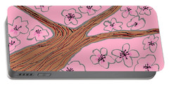 Spring Stained Glass 3 Portable Battery Charger