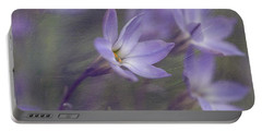 Spring Starflower Portable Battery Charger by Eva Lechner