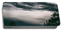 Spring Storm Cloudscape Portable Battery Charger