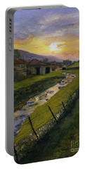 Spring Sun Rise Muker Portable Battery Charger