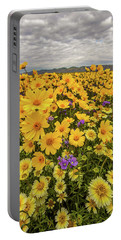 Spring Super Bloom Portable Battery Charger by Peter Tellone