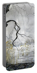 Spring Thaw On Misty Grenadier Pond Portable Battery Charger