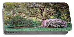 Spring Azaleas In Florida Portable Battery Charger