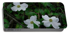 Portable Battery Charger featuring the photograph Spring Time Dogwood by Mike Eingle