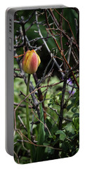 Spring Tulip Bud Portable Battery Charger