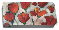 Spring Tulip Garden Portable Battery Charger