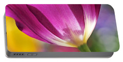 Spring Tulip - Square Portable Battery Charger