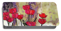 Spring Tulips Portable Battery Charger