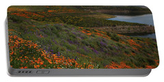 Portable Battery Charger featuring the photograph Spring Wildflowers At Diamond Lake In California by Jetson Nguyen