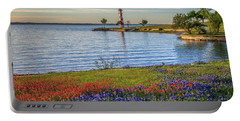 Spring Wildflowers Of Lake Buchanan Portable Battery Charger