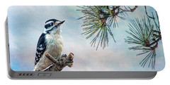 Spring Woodpecker Portable Battery Charger