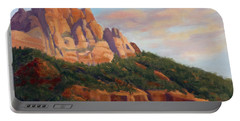 Springdale Sunset On Johnson Mountain Portable Battery Charger