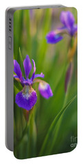 Springs Irises Beauty Portable Battery Charger