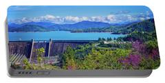 Springtime At Shasta Lake Dam Portable Battery Charger
