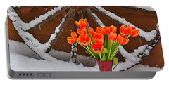 Springtime In Colorado Portable Battery Charger