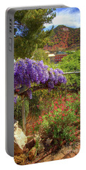Springtime In Old Bisbee Arizona Portable Battery Charger