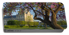 Springtime In Paris Portable Battery Charger