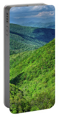 Springtime In The Blue Ridge Mountains Portable Battery Charger
