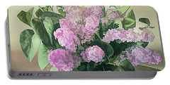 Springtime Lilacs Portable Battery Charger