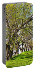 Springtime Maples Portable Battery Charger by Alan L Graham