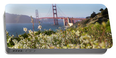 Portable Battery Charger featuring the photograph Springtime On The Bay by Everet Regal